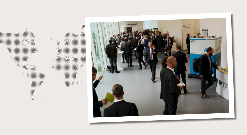 2. Germany The roughly 200 attendees received news on the topics of the energy transition and hydrogen.