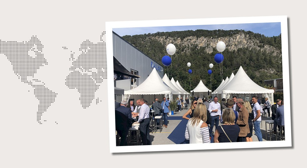 4. Austria Celebration of the 25th anniversary of ALPE Kommunal- u. Umwelttechnik GmbH & Co KG in Stams, Tyrol in September 2019