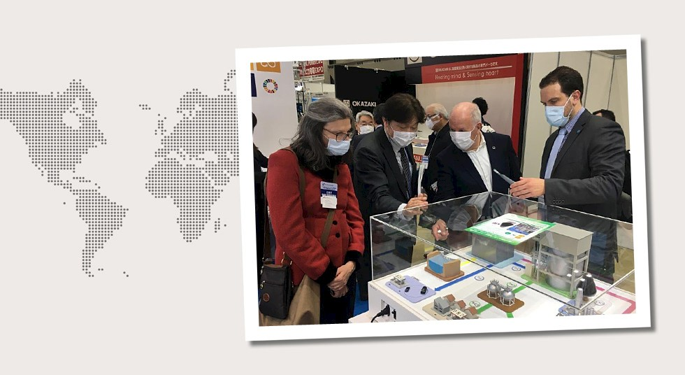 5. Japan Manuel Simm in Tokio anlässlich der 16th Int'l Hydrogen & Fuel Cell Expo – FC EXPO 2020 vom 26. bis 28.02.2020.