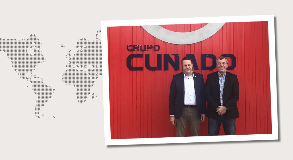 8. Spain Michael Kosfeld and Henning Zitterich, Mannesmann Grossrohr, on a visit to Grupo Cunado in Madrid